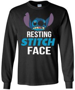 image 320 247x296px Resting Stitch Face Disney T Shirts, Hoodies, Sweater