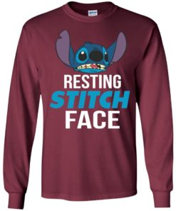 image 321 247x296px Resting Stitch Face Disney T Shirts, Hoodies, Sweater