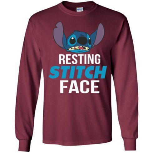 image 321 490x490px Resting Stitch Face Disney T Shirts, Hoodies, Sweater