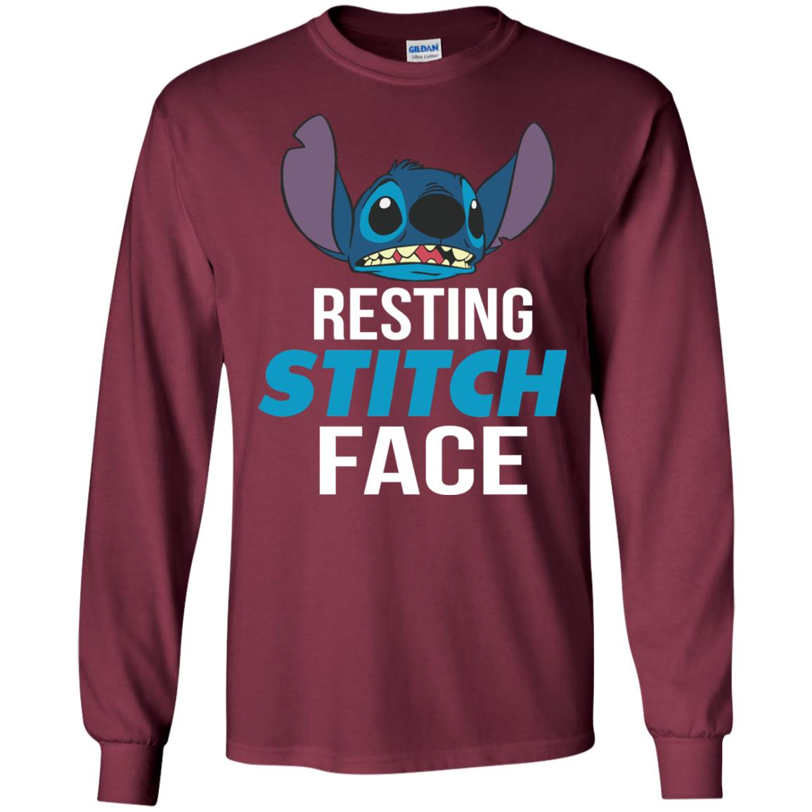 image 321px Resting Stitch Face Disney T Shirts, Hoodies, Sweater