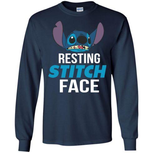 image 322 490x490px Resting Stitch Face Disney T Shirts, Hoodies, Sweater