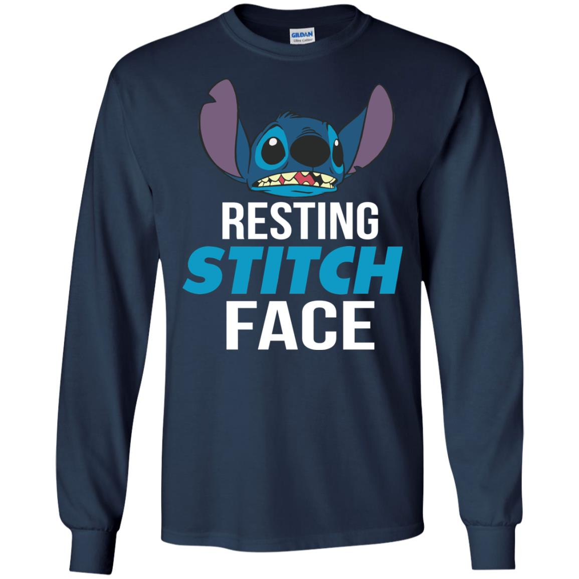 image 322px Resting Stitch Face Disney T Shirts, Hoodies, Sweater