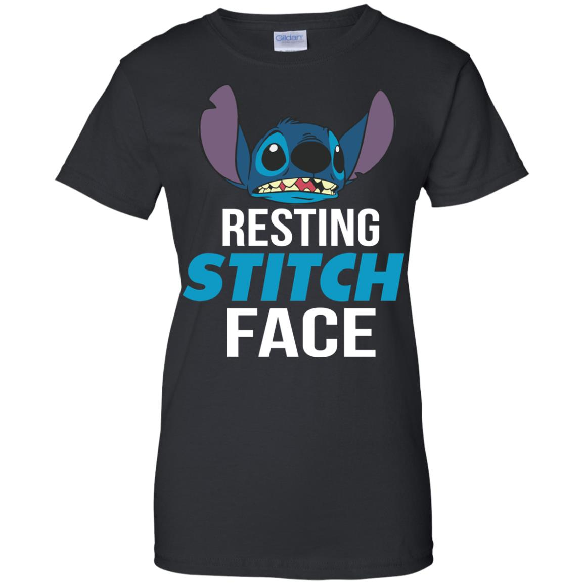 image 326px Resting Stitch Face Disney T Shirts, Hoodies, Sweater