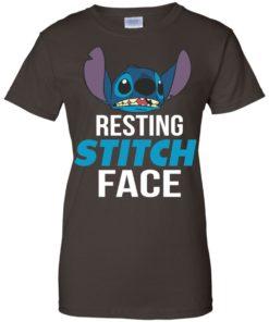 image 327 247x296px Resting Stitch Face Disney T Shirts, Hoodies, Sweater