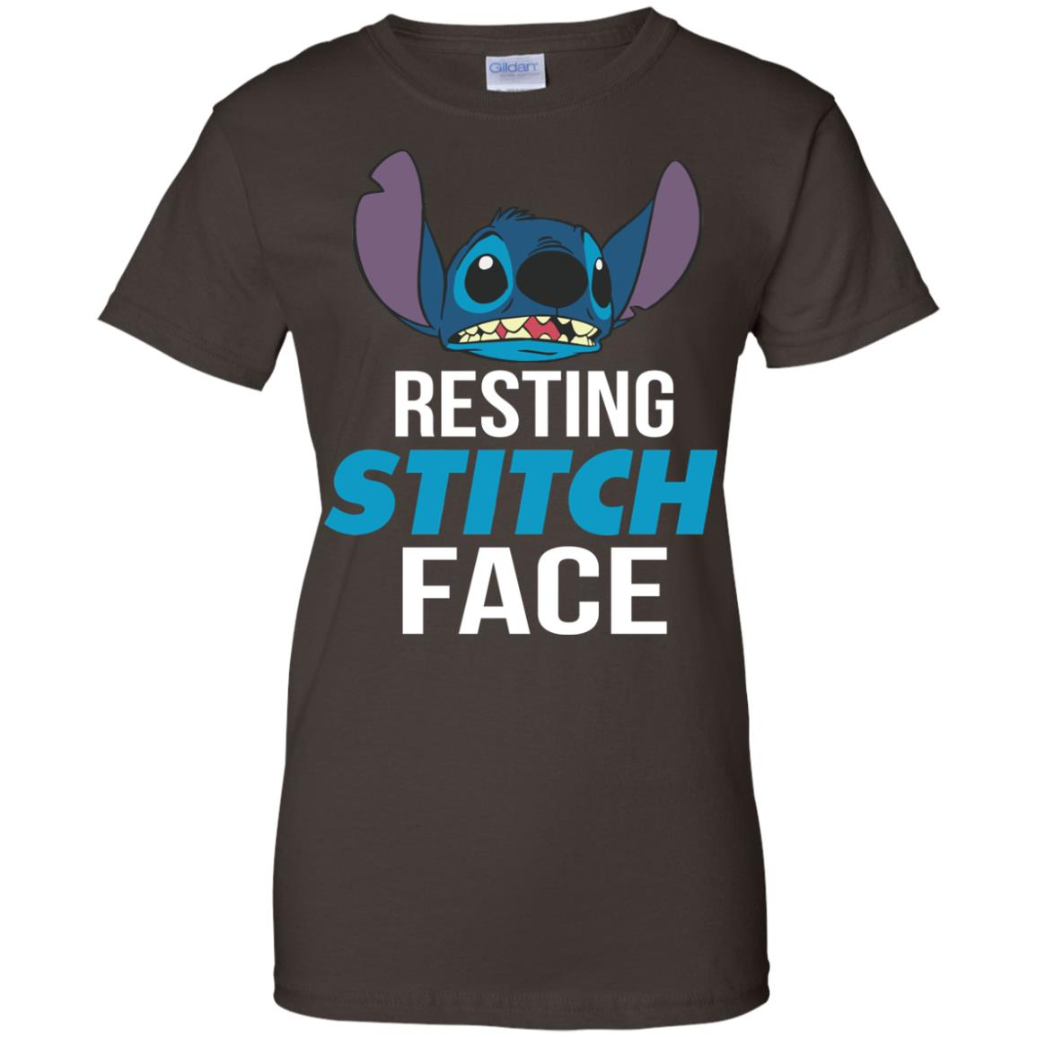 image 327px Resting Stitch Face Disney T Shirts, Hoodies, Sweater