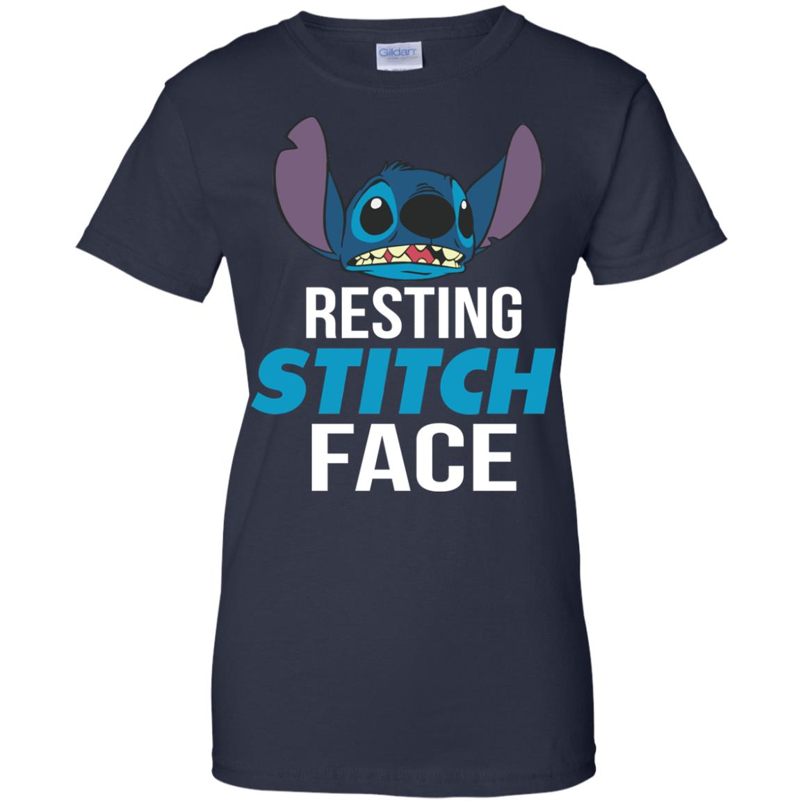 image 328px Resting Stitch Face Disney T Shirts, Hoodies, Sweater