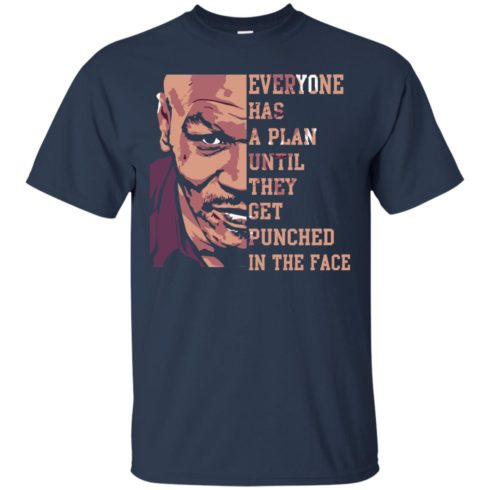 image 35 490x490px Mike Tyson: Everyone Has A Plan Until They Get Punched In The Face T Shirt