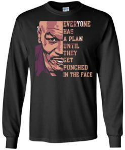 image 36 247x296px Mike Tyson: Everyone Has A Plan Until They Get Punched In The Face T Shirt