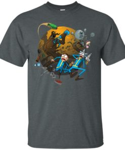 image 367 247x296px Rick and Morty Meet Fallout Mashup Design T Shirts, Hoodies