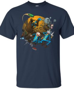 image 368 247x296px Rick and Morty Meet Fallout Mashup Design T Shirts, Hoodies