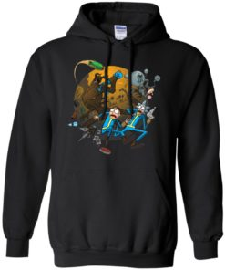 image 369 247x296px Rick and Morty Meet Fallout Mashup Design T Shirts, Hoodies