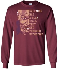 image 37 247x296px Mike Tyson: Everyone Has A Plan Until They Get Punched In The Face T Shirt