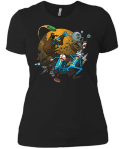 image 372 247x296px Rick and Morty Meet Fallout Mashup Design T Shirts, Hoodies