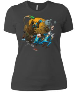 image 373 247x296px Rick and Morty Meet Fallout Mashup Design T Shirts, Hoodies