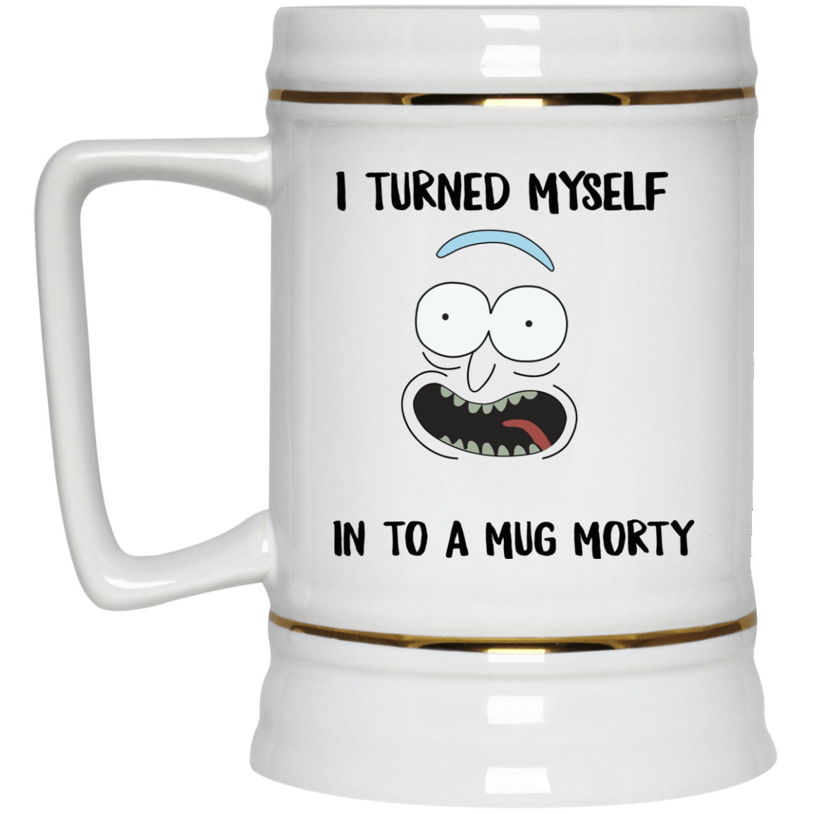 image 38px I Turned My Self Into A Mug Morty Coffee Mug