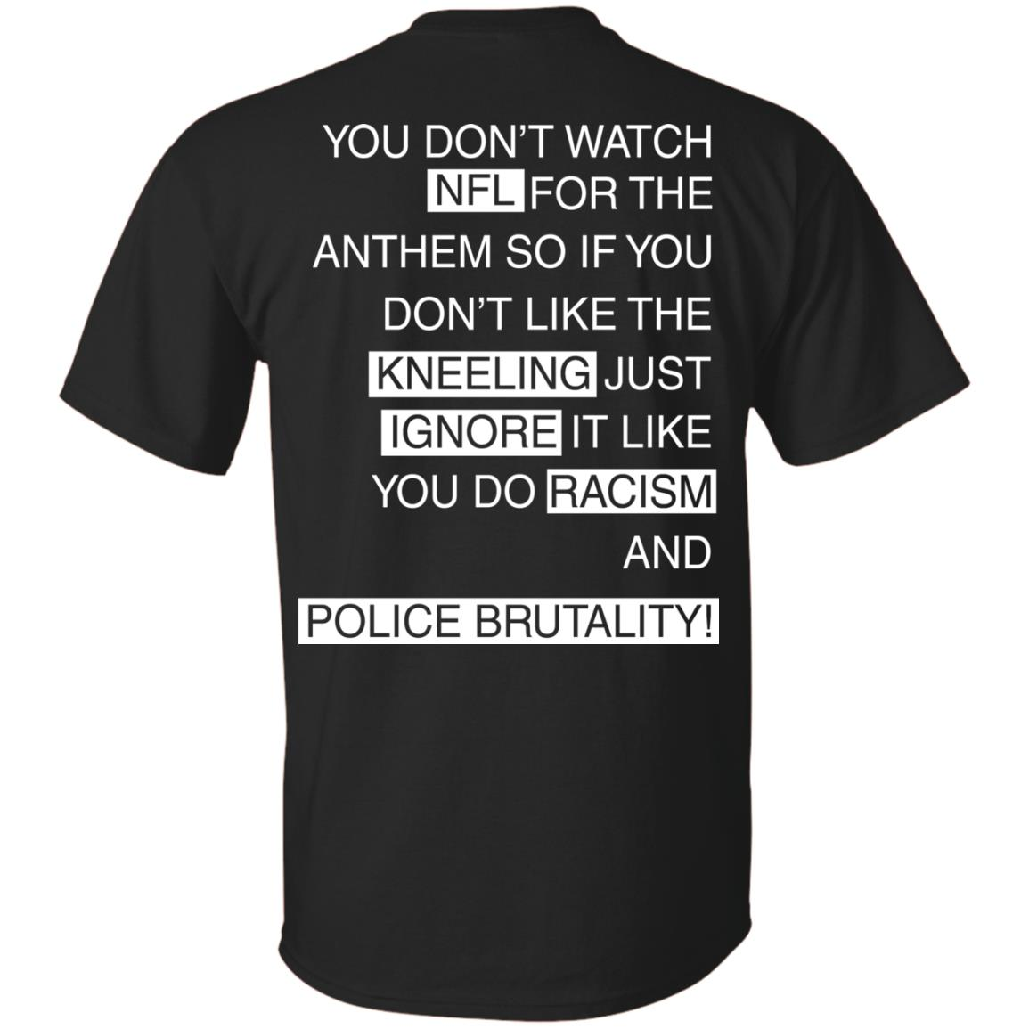 image 396px You Don't Watch NFL For The Anthem Both Side T Shirts, Hoodies