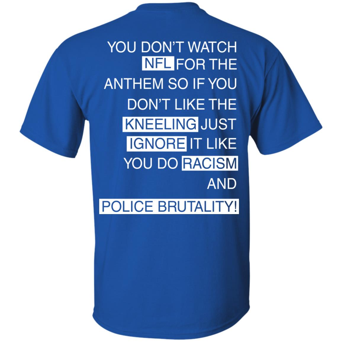 image 398px You Don't Watch NFL For The Anthem Both Side T Shirts, Hoodies