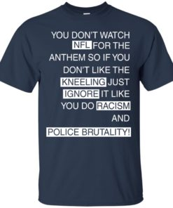 image 399 247x296px You Don't Watch NFL For The Anthem Both Side T Shirts, Hoodies