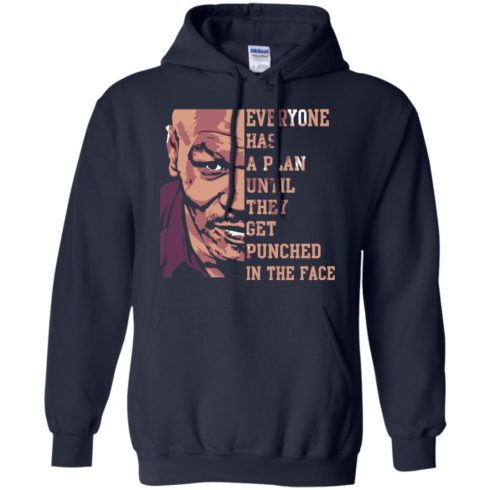 image 40 490x490px Mike Tyson: Everyone Has A Plan Until They Get Punched In The Face T Shirt
