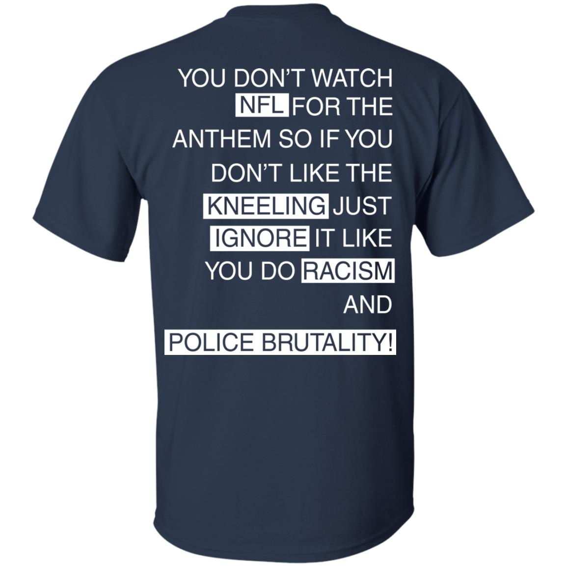 image 400px You Don't Watch NFL For The Anthem Both Side T Shirts, Hoodies