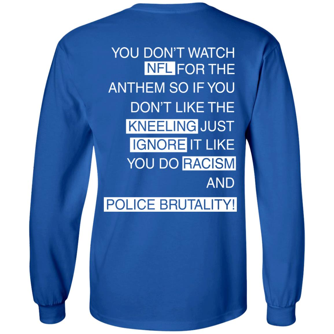 image 404px You Don't Watch NFL For The Anthem Both Side T Shirts, Hoodies