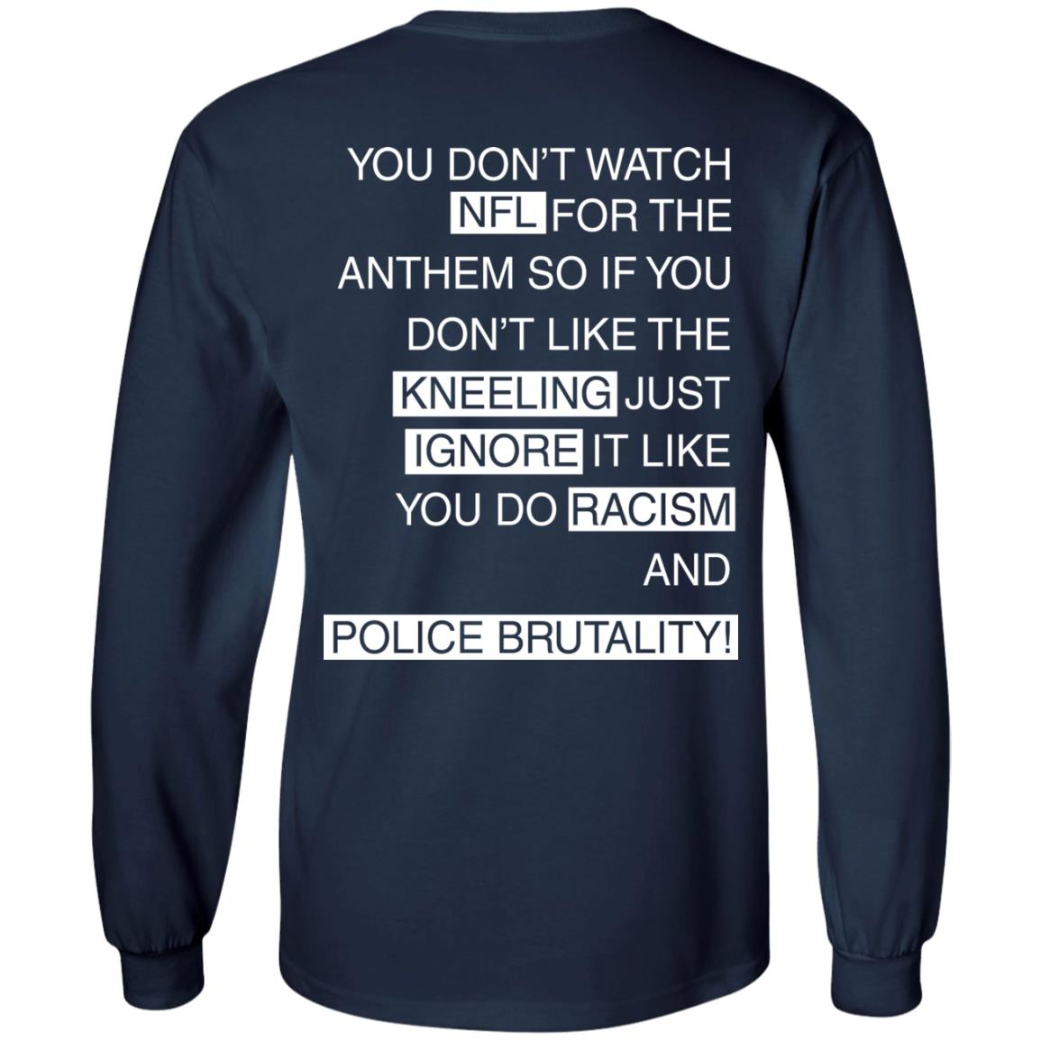 image 406px You Don't Watch NFL For The Anthem Both Side T Shirts, Hoodies