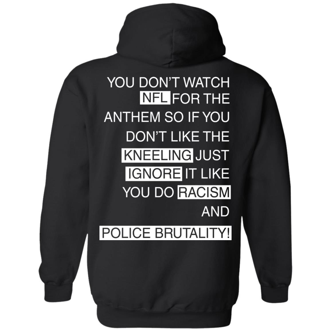image 408px You Don't Watch NFL For The Anthem Both Side T Shirts, Hoodies