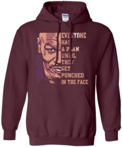 image 41 247x296px Mike Tyson: Everyone Has A Plan Until They Get Punched In The Face T Shirt