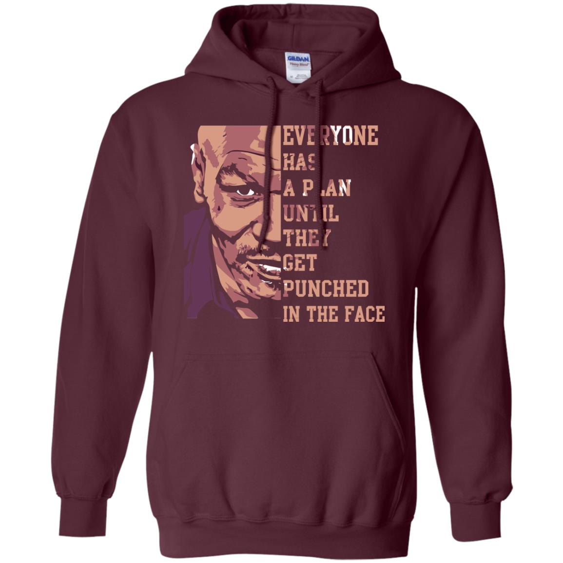 image 41px Mike Tyson: Everyone Has A Plan Until They Get Punched In The Face T Shirt