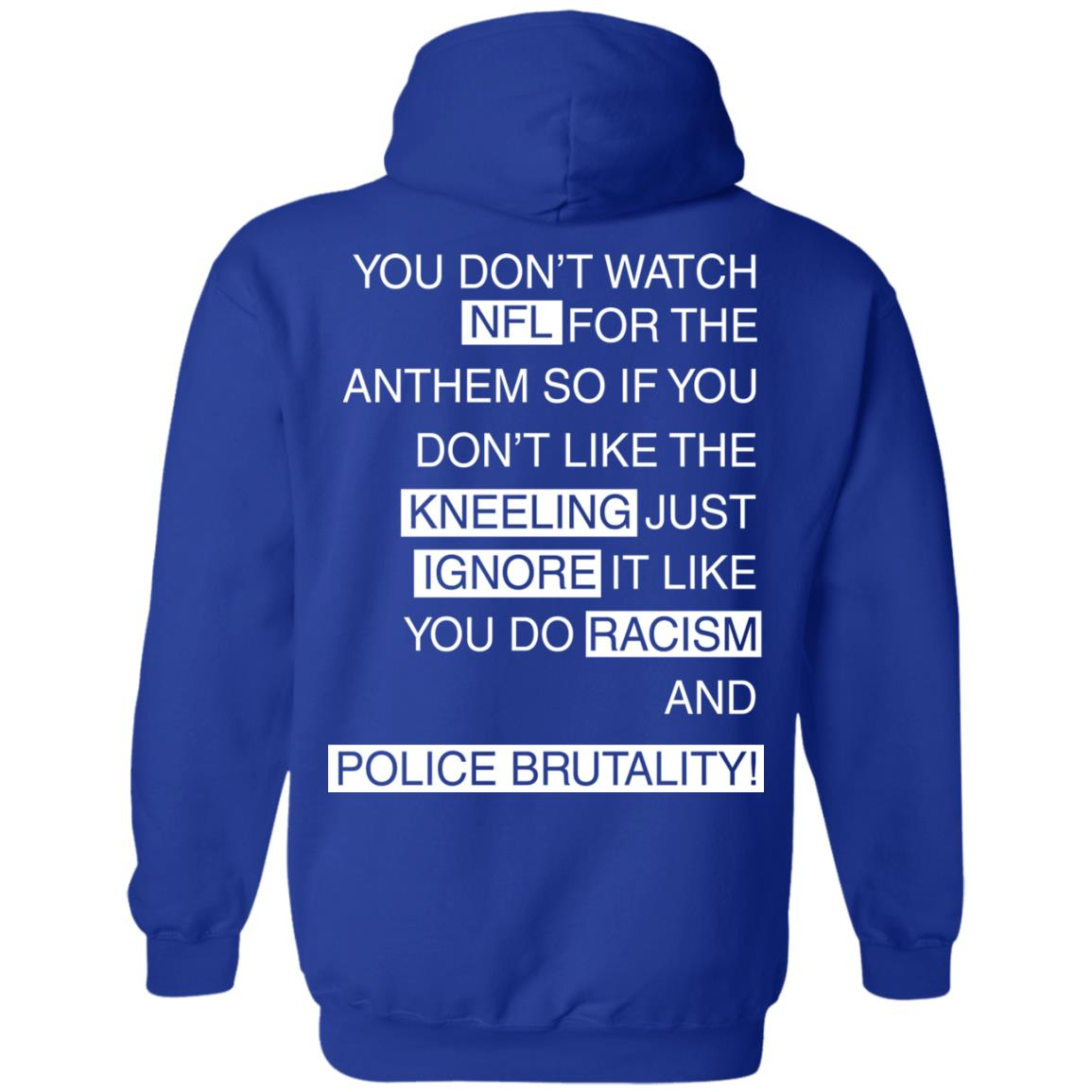 image 412px You Don't Watch NFL For The Anthem Both Side T Shirts, Hoodies