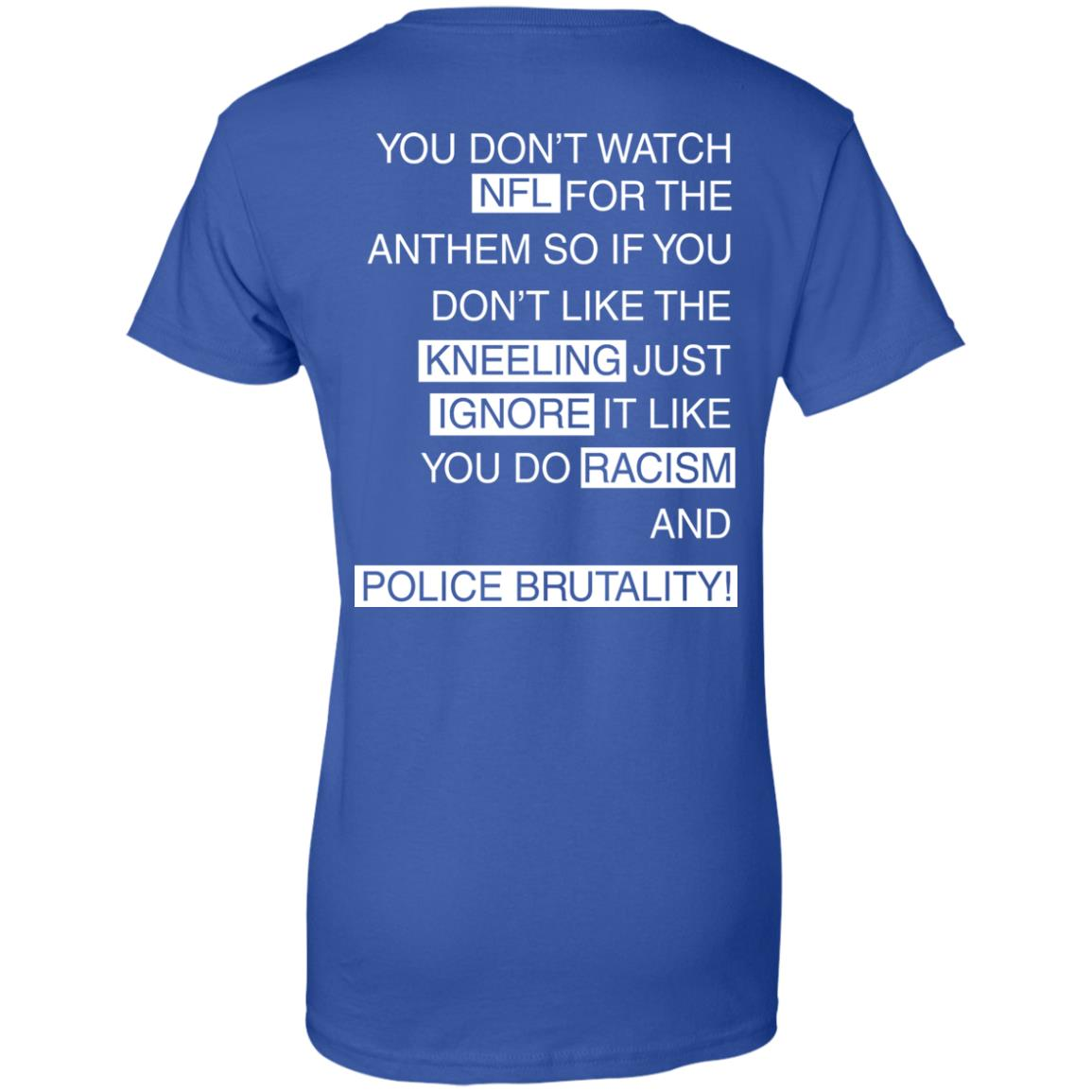 image 418px You Don't Watch NFL For The Anthem Both Side T Shirts, Hoodies