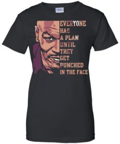 image 42 247x296px Mike Tyson: Everyone Has A Plan Until They Get Punched In The Face T Shirt