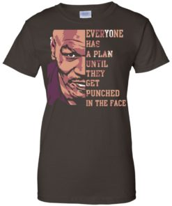 image 43 247x296px Mike Tyson: Everyone Has A Plan Until They Get Punched In The Face T Shirt