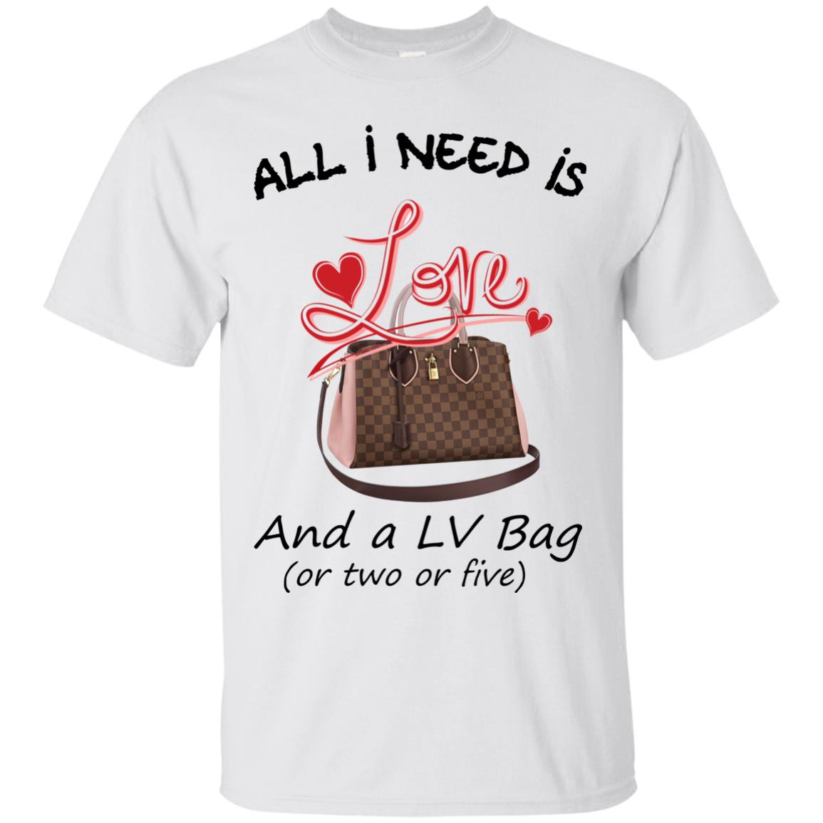 image 432px All I Need Is Love and a LV Bag or Two or Five T Shirts