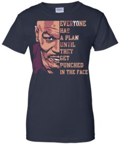 image 44 247x296px Mike Tyson: Everyone Has A Plan Until They Get Punched In The Face T Shirt