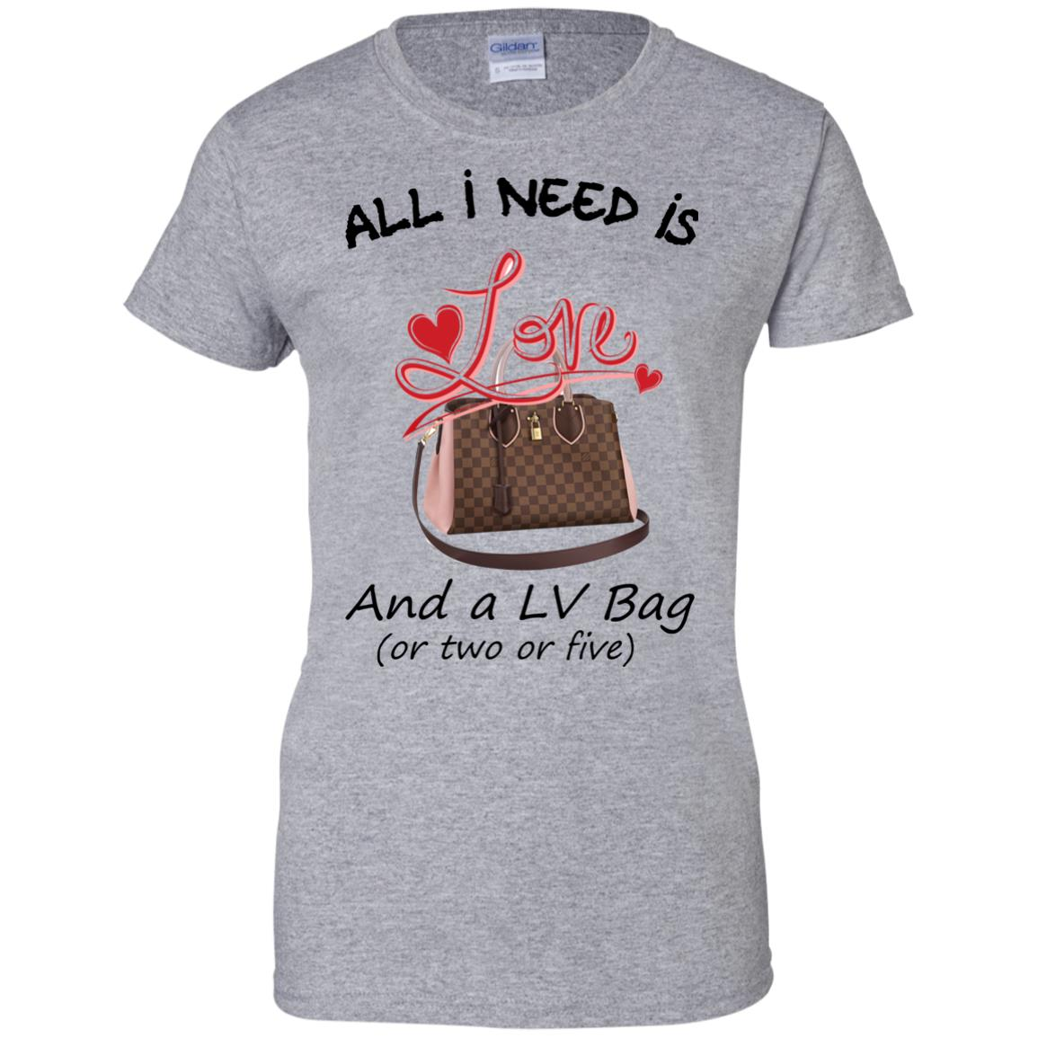 image 440px All I Need Is Love and a LV Bag or Two or Five T Shirts