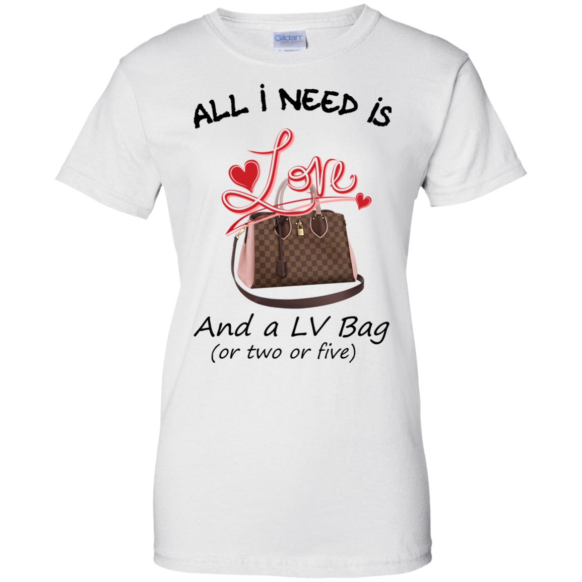 image 441px All I Need Is Love and a LV Bag or Two or Five T Shirts