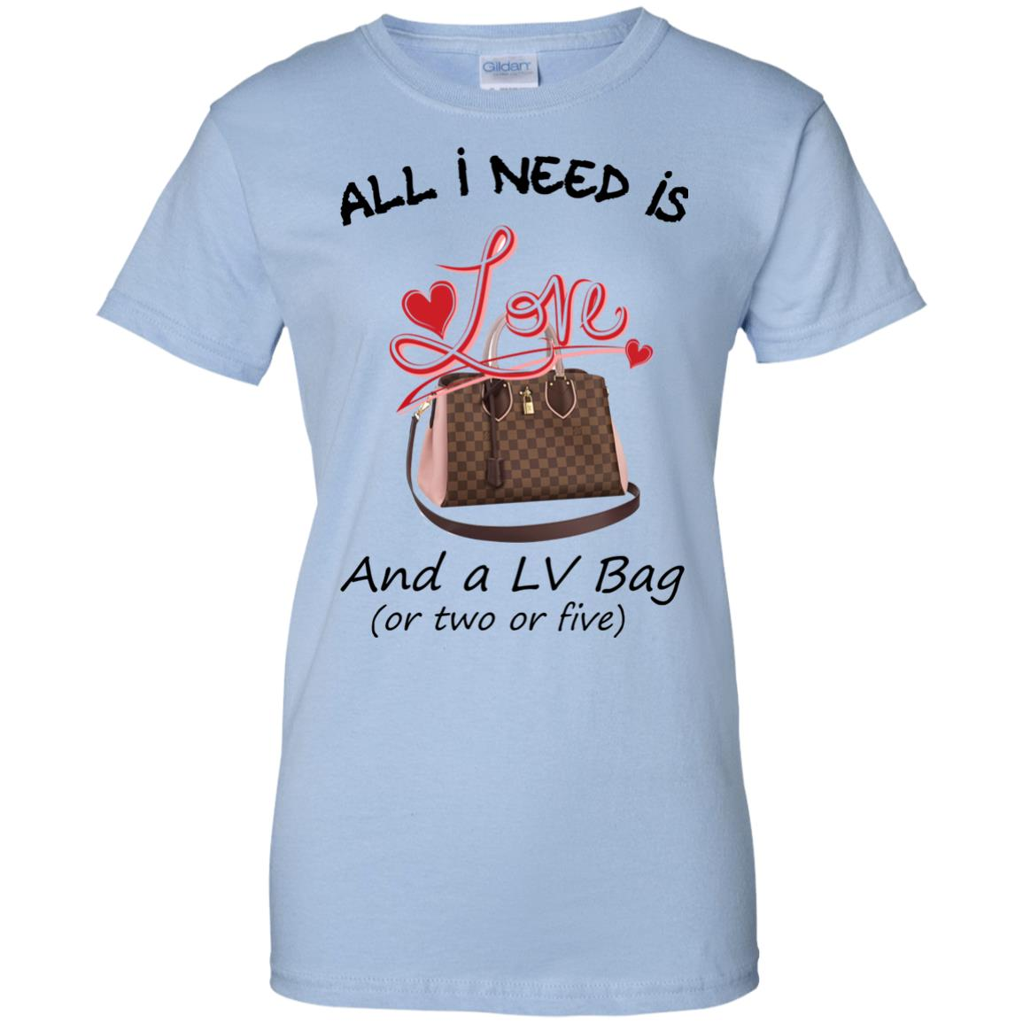 image 442px All I Need Is Love and a LV Bag or Two or Five T Shirts