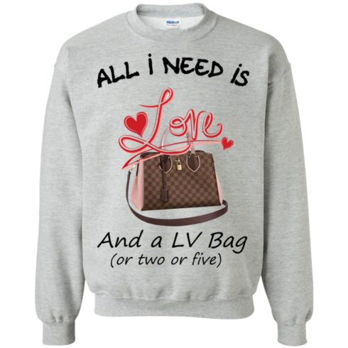 image 443 490x490px All I Need Is Love and a LV Bag or Two or Five Sweater