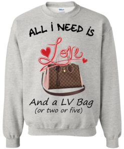 image 444 247x296px All I Need Is Love and a LV Bag or Two or Five Sweater