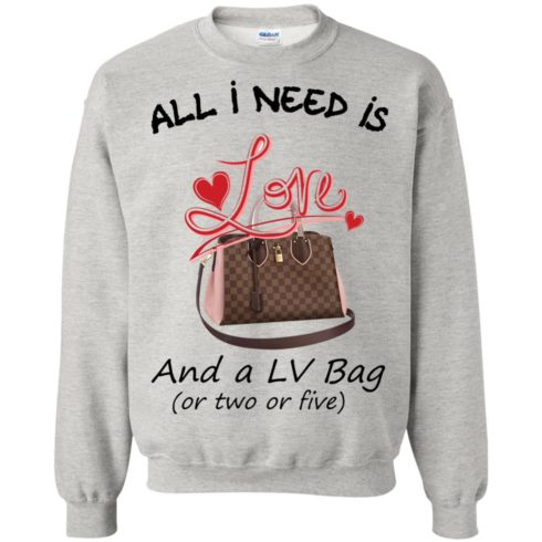 image 444 490x490px All I Need Is Love and a LV Bag or Two or Five Sweater