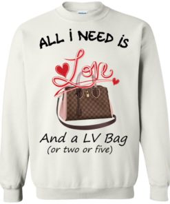 image 445 247x296px All I Need Is Love and a LV Bag or Two or Five Sweater