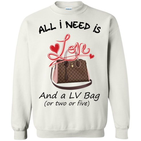 image 445 490x490px All I Need Is Love and a LV Bag or Two or Five Sweater