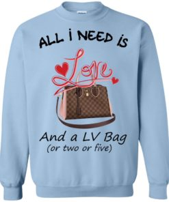 image 446 247x296px All I Need Is Love and a LV Bag or Two or Five Sweater