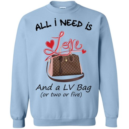 image 446 490x490px All I Need Is Love and a LV Bag or Two or Five Sweater