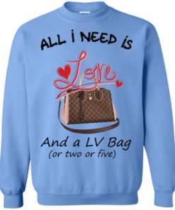 image 447 247x296px All I Need Is Love and a LV Bag or Two or Five Sweater