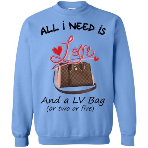 image 447 490x490px All I Need Is Love and a LV Bag or Two or Five Sweater