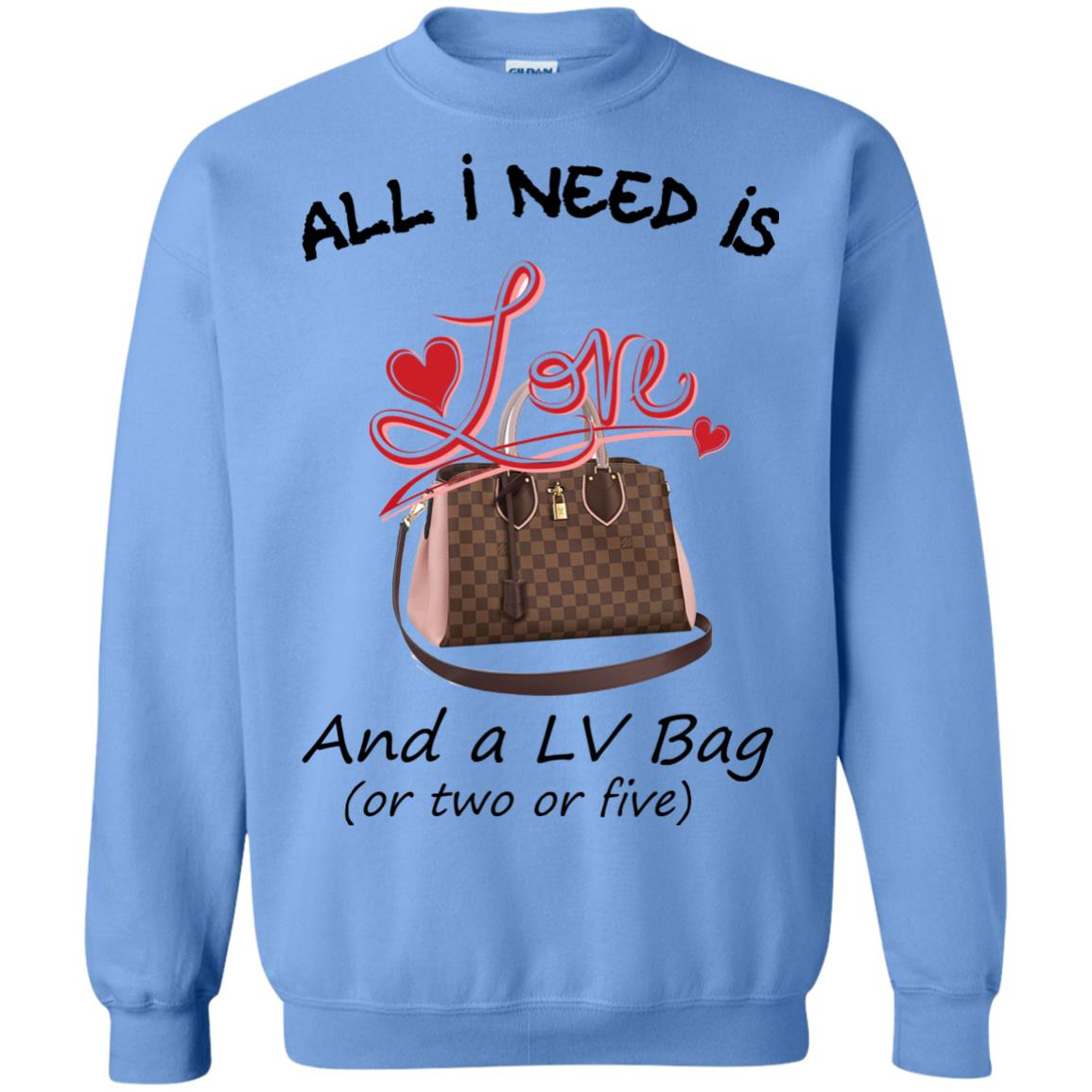 image 447px All I Need Is Love and a LV Bag or Two or Five Sweater