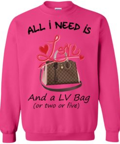 image 448 247x296px All I Need Is Love and a LV Bag or Two or Five Sweater