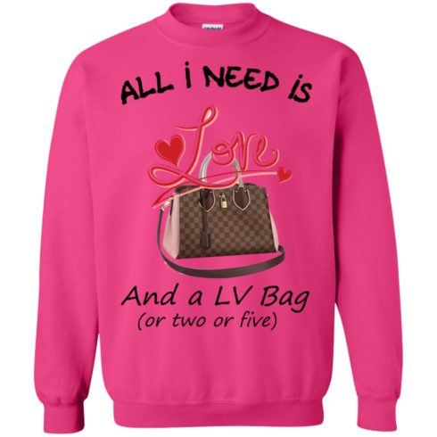 image 448 490x490px All I Need Is Love and a LV Bag or Two or Five Sweater